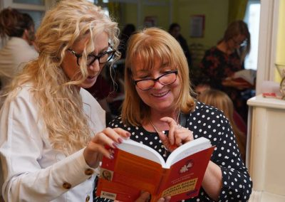 Калина Стефанова и читателка
