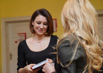 """Невена Басарова и Антония Керчева на представяне на книгата """"Нямам време да имам време"""""""