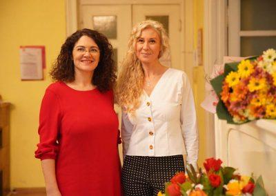 """Калина Стефанова и Бианка Йовова на представянето на книгата """"Нямам време да имам време"""""""