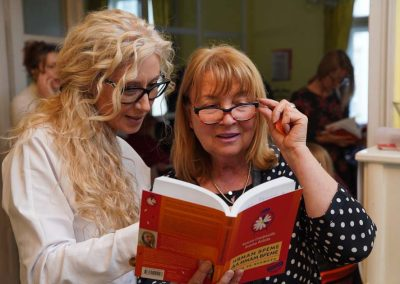 """Калина Стефанова на представянето на книгата """"Нямам време да имам време"""""""